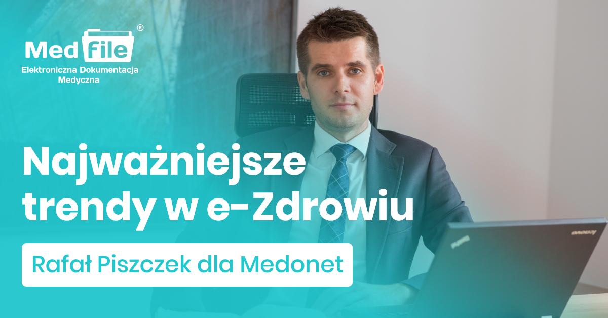 Rafał Piszczek w Medonet